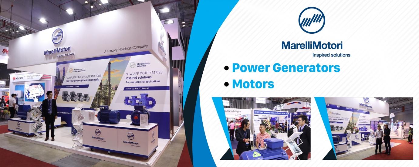 Động cơ điện và đầu phát MarelliMotori