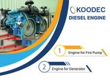 Catalogue Động cơ diesel Koodec